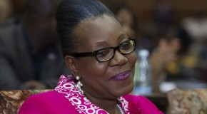 CATHERINE SAMBA PANZA ELUE PRESIDENTE DE TRANSITION