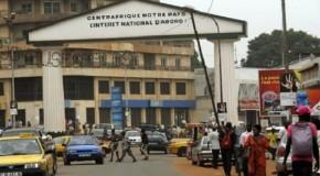 GRAND FORMAT : CENTRAFRIQUE : LA CARTE POSTALE DE BANGUI, GRENIER DE LA POLITIQUE CENTRAFRICAINE (2)
