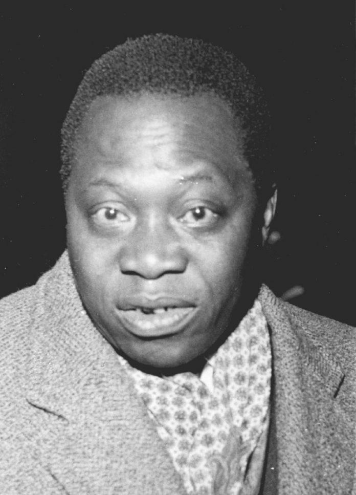 Barthélémy Boganda, Image rare